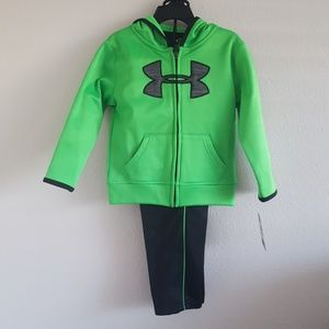 Under Armour Toddler 2 pc Set Hoodie w/pants 3T